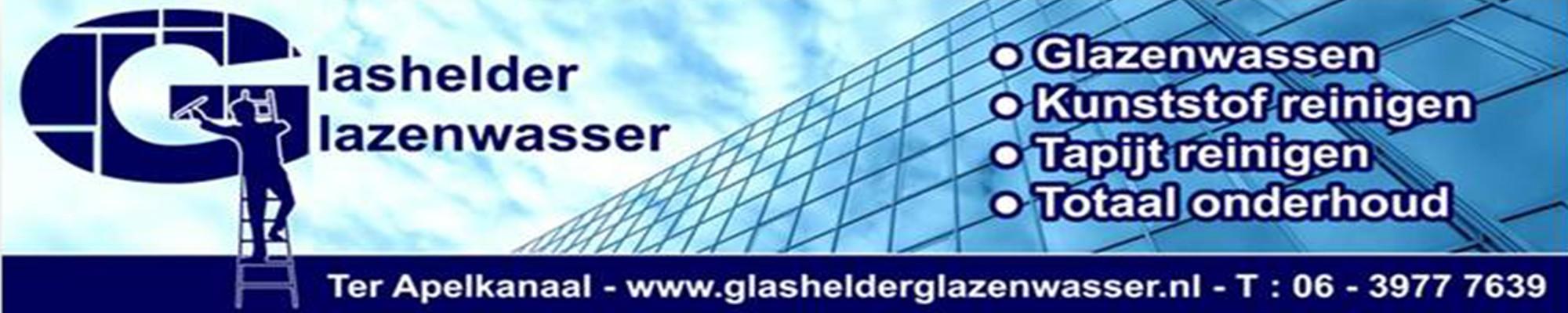 Glashelder glazenwasser ter apel